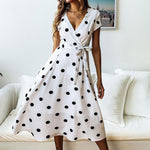 Load image into Gallery viewer, Lady Fashionable Dotted Dress