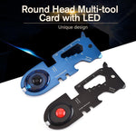 Load image into Gallery viewer, Round Head Multi-tool Card with Led