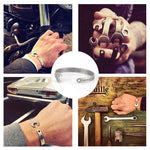 Load image into Gallery viewer, Titanium Steel Nut Wrench Bracelet