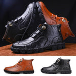 Load image into Gallery viewer, Men's Hand-stitched Martin Boots