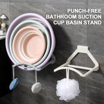 Load image into Gallery viewer, Punch-free Bathroom Suction Cup Basin Stand