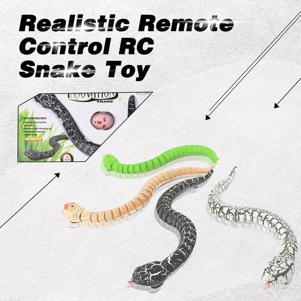 Realistic Remote Control RC Snake Toy