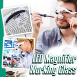 Load image into Gallery viewer, LED Magnifier Working Glass