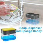 Load image into Gallery viewer, Soap Dispenser and Sponge Caddy