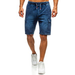 Load image into Gallery viewer, Men Fashion Denim Shorts