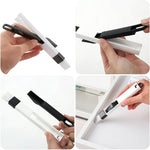 Load image into Gallery viewer, Hand-held Tools Window Track Cleaning Brushes with Dustpan - 3 Sets
