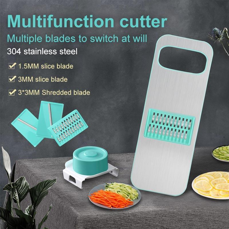 3-in-1 Stainless Steel Vegetable Cutter