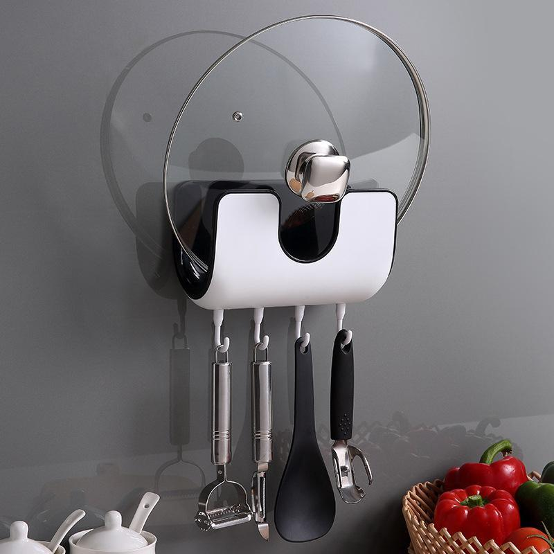 Punch-free Pot Lid Rack