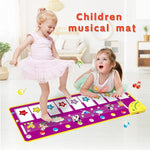 Load image into Gallery viewer, Children Piano Music Dance Mat