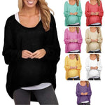 Load image into Gallery viewer, Loose Pullover Solid Color T-Shirt