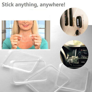 Super Sticky Silicone Gel Pads Clear