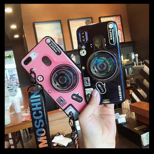 Luxury 3D Camera Blue Ray Phone Cover For IPhone