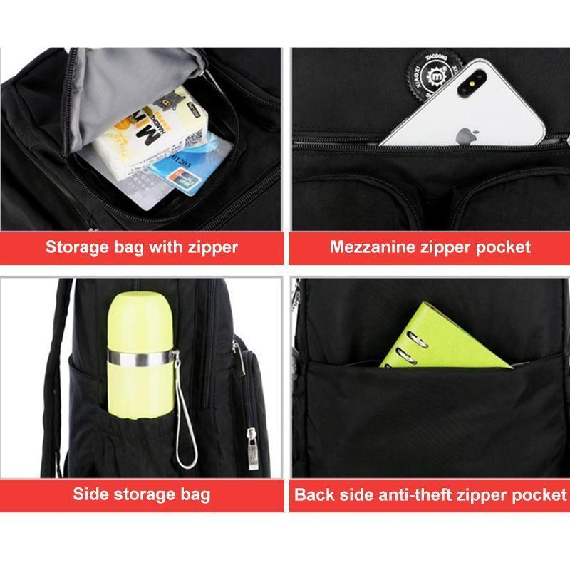 Large Capacity Multi-Pocket Waterproof Backpack
