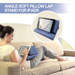Load image into Gallery viewer, Multi-Angle Soft Pillow Lap Stand for iPads (Upgrade Version)