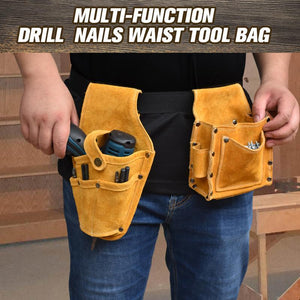 Multi-function Drill Nails Tool Bag