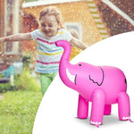 Load image into Gallery viewer, Pink Elephant Inflatable Sprinkler