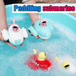 Load image into Gallery viewer, Submarine Clockwork Bathing Toy
