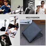 Load image into Gallery viewer, New PU Cross Pattern Men's wallet