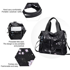 Fashionable waterproof bag for the ladies
