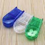 Load image into Gallery viewer, Portable Pill Cutter Pill Organizer