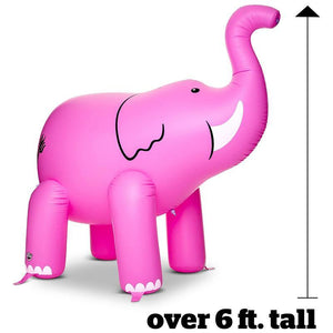 Pink Elephant Inflatable Sprinkler