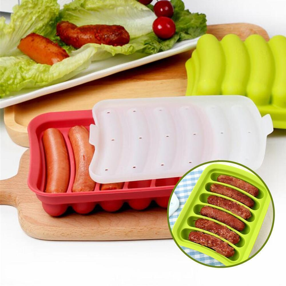 Homemade Manual Sausage Mold for Barbecue and Breakfast