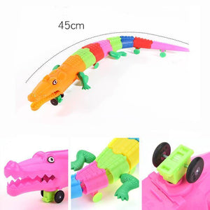 Electronic Led Light Universal Crocodile Toy