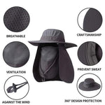 Load image into Gallery viewer, OUTDOOR SUNHAT-(Shape-able, Crush-able, Fold-able, Ultra Wind Resistant)