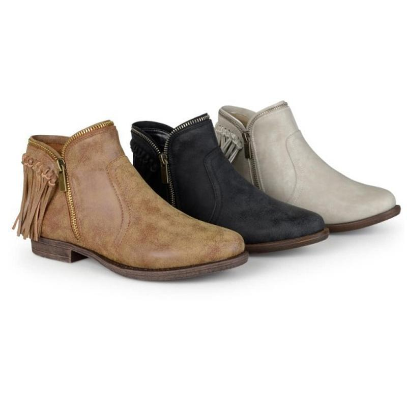 Women Casual Platform Zipper Boots