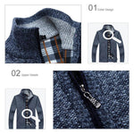 Load image into Gallery viewer, Men sweater cardigan