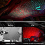 Load image into Gallery viewer, USB LED Car Atmosphere Lamp, Romantic Decoration