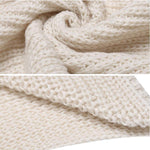 Load image into Gallery viewer, Hirundo Long Crochet Knitted Blanket Shawl