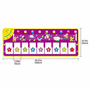 Children Piano Music Dance Mat