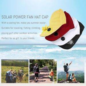 Solar Powered Cooling Cap