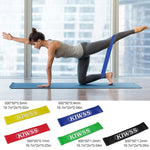 Load image into Gallery viewer, Yoga Stretch Band Set (5 PCs)