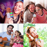 Load image into Gallery viewer, Wireless Bluetooth Karaoke Microphone