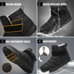 Non-slip Waterproof Snow Boots | Ankle Boots