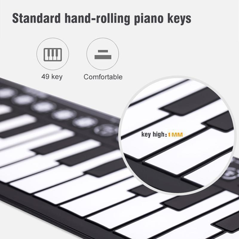 Roll-Up Digital Piano