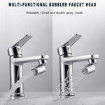 Load image into Gallery viewer, Rotatable Dual-Function Bubbler Faucet Head
