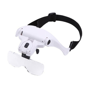 LED Magnifier Working Glass