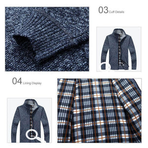 Men sweater cardigan