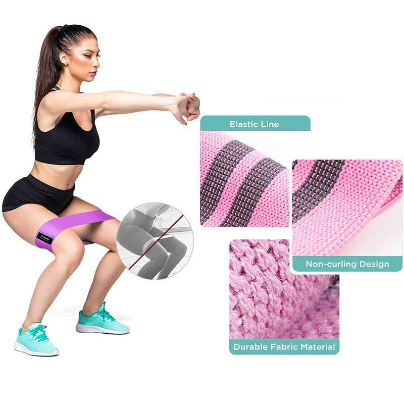 Pilates Sport Rubber Fitness Bands