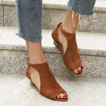 Load image into Gallery viewer, Peep Toe Chic Sandals