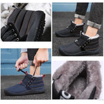 Load image into Gallery viewer, Warm And Velvet Thickening Waterproof Non-slip Outdoor Cotton Shoes