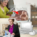 Load image into Gallery viewer, Hand-Free Desktop Magnifier with LED