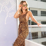 Load image into Gallery viewer, New Wild Thing Leopard Jumpsuit