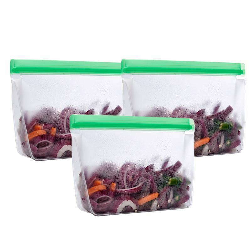 Stand Up Reusable Food Bags