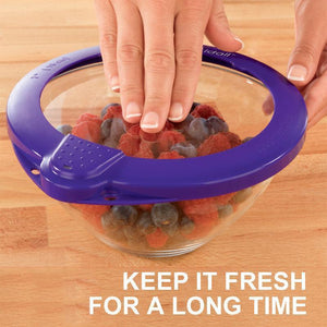 Reusable Fresh-keeping Silicone Lids - 5 pieces