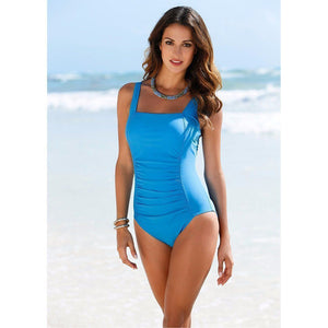 Vintage Padded One-Piece Swimsuit