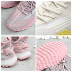 Load image into Gallery viewer, Net Surface Breathable Lace-Up Yeezy Sneakers